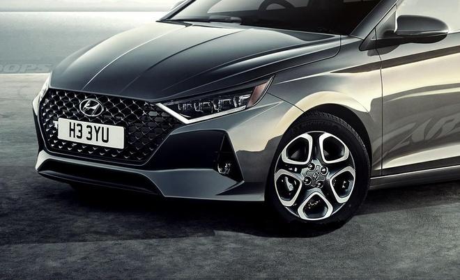 Hyundai i20 2020 co kieu dang nhu Elantra, ra mat cuoi nam hinh anh 1