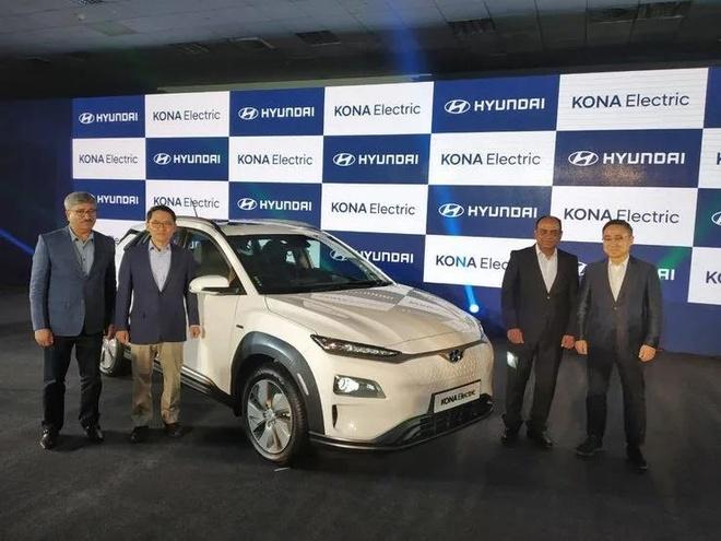 Hyundai Kona EV ra mat, thoi dai xe dien bat dau tai An Do? hinh anh 1