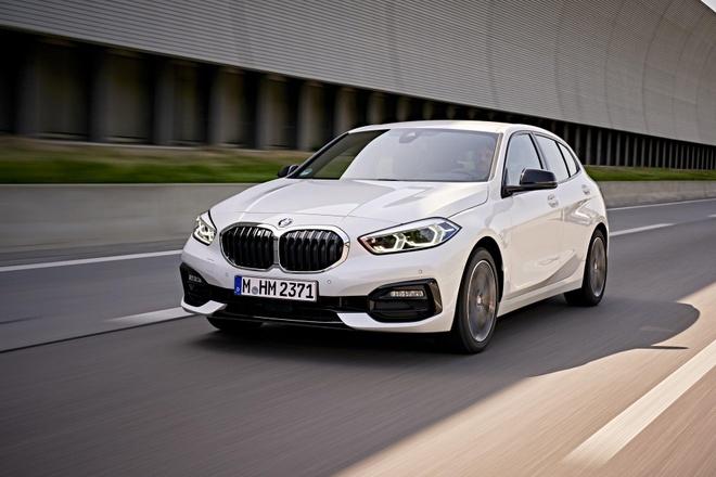 BMW 1-Series 2020 lo dien, dan dong cau truoc, noi that rong hon hinh anh 6
