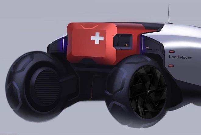 Neu Land Rover lam xe chay tren Sao Hoa, thi no se trong nhu the nay hinh anh 2