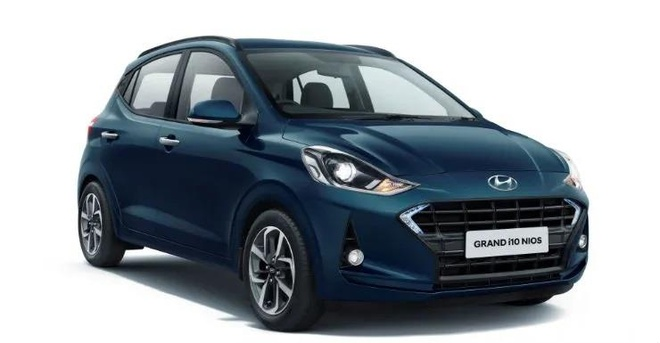 Hyundai Grand i10 NIOS sap co mat tai dai ly anh 1