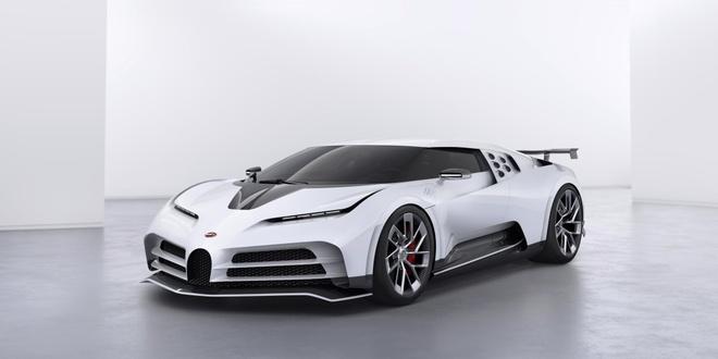 Bugatti ra mat sieu xe Centodieci anh 1