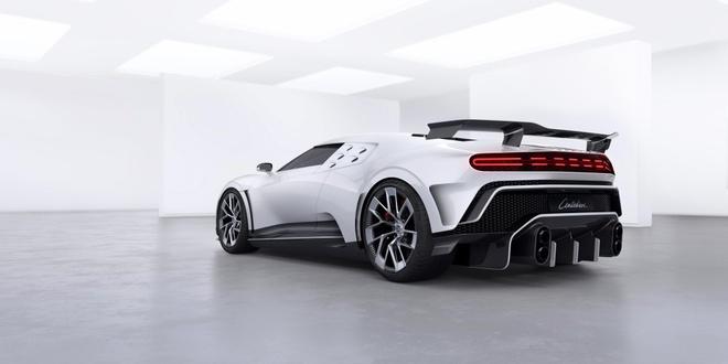 Bugatti ra mat sieu xe Centodieci anh 2