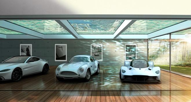 Aston Martin xay gara trong mo cho sieu xe hinh anh 4