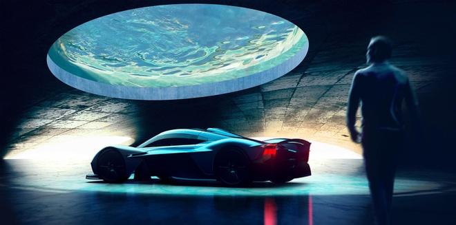 Aston Martin xay gara trong mo cho sieu xe hinh anh 1