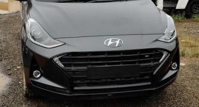 Hyundai Grand i10 ban cao cap nhat chua ra mat da xuat hien tai dai ly hinh anh 2