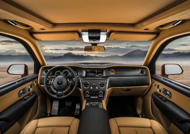 Sieu SUV Rolls-Royce Cullinan se co ban 'ky si bong dem' hinh anh 4