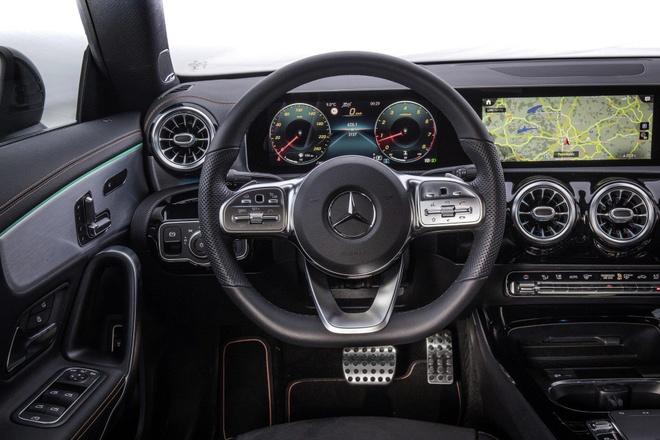 Mercedes CLA 2020 trinh lang, sang va rong hon doi cu hinh anh 3