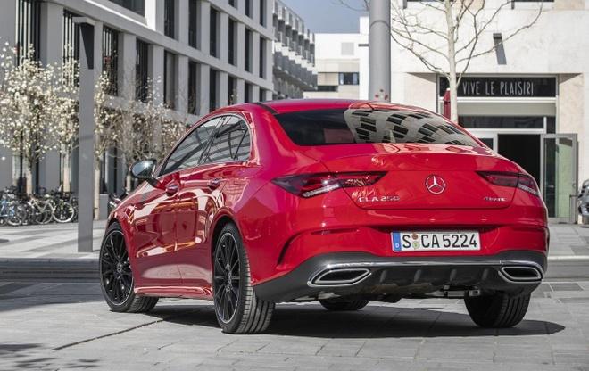 Mercedes CLA 2020 trinh lang, sang va rong hon doi cu hinh anh 5