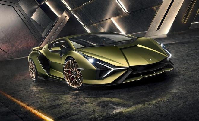 Siêu xe Lamborghini Sián lộ diện - đẹp và mạnh nhất, giá 3,6