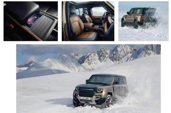 Land Rover Defender 2020 lo thong tin chi tiet truoc le ra mat hinh anh 2