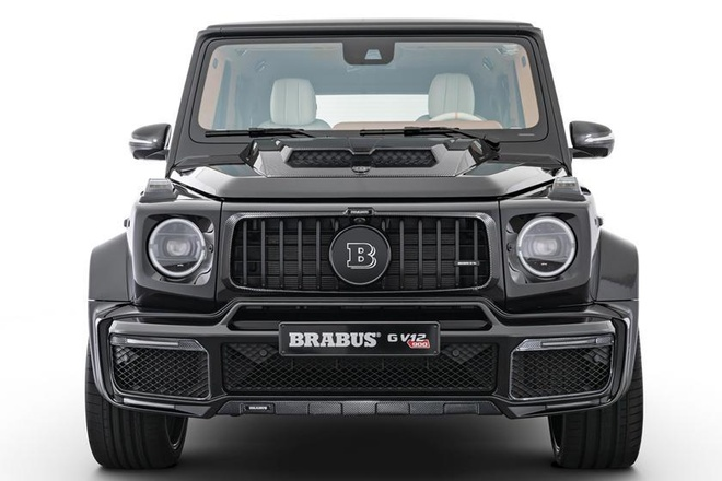Mercedes-AMG G-Class do dong co V12 cua Brabus anh 1