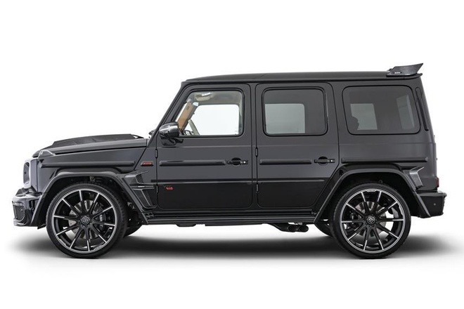 Mercedes-AMG G-Class do dong co V12 cua Brabus anh 3