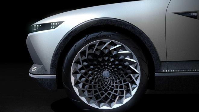 Hyundai trinh dien concept xe dien tuong lai, lay cam hung tu qua khu hinh anh 4
