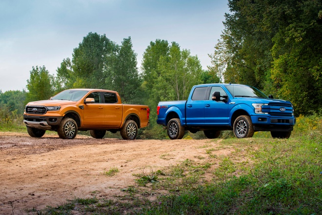 ford ranger va f 150 them goi nang cap off road manh me