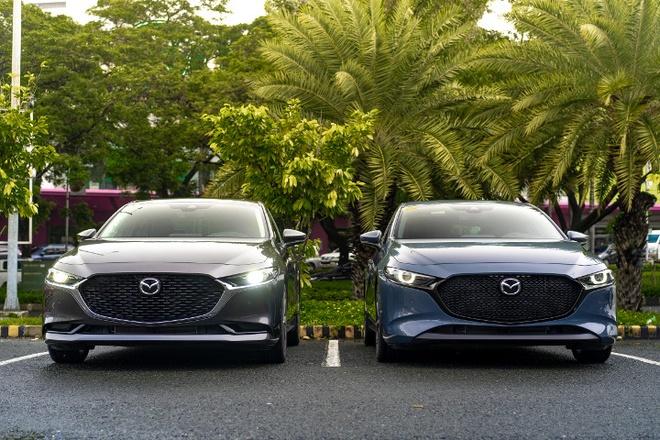 Mazda 3 2020 them trang bi an toan chu dong, ke ca ban tieu chuan hinh anh 1