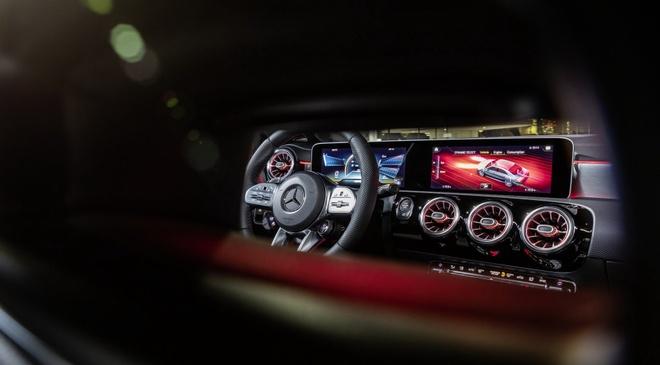Mercedes CLA 250 va AMG CLA 35 2020 len ke, nhieu cong nghe an toan hinh anh 5