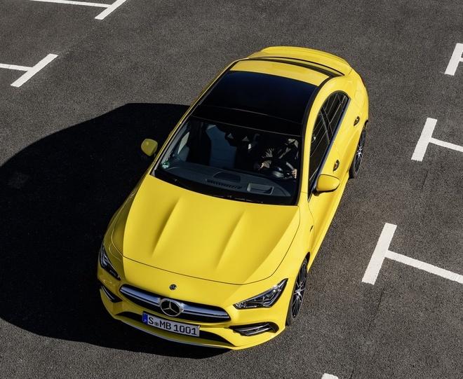 Mercedes CLA 250 va AMG CLA 35 2020 len ke, nhieu cong nghe an toan hinh anh 6