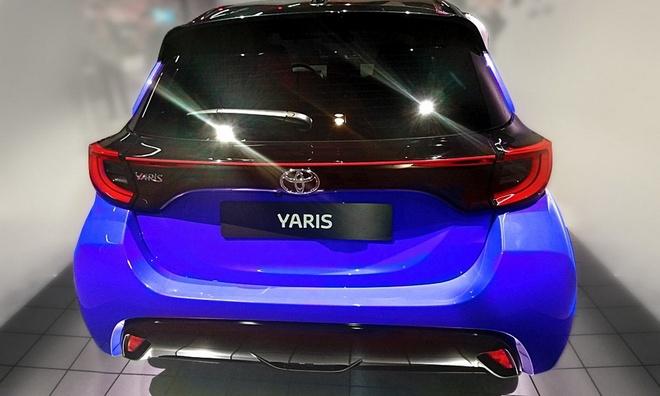 Toyota Yaris 2020 ban chau Au lo dien, mat truoc thiet ke khac la hinh anh 2