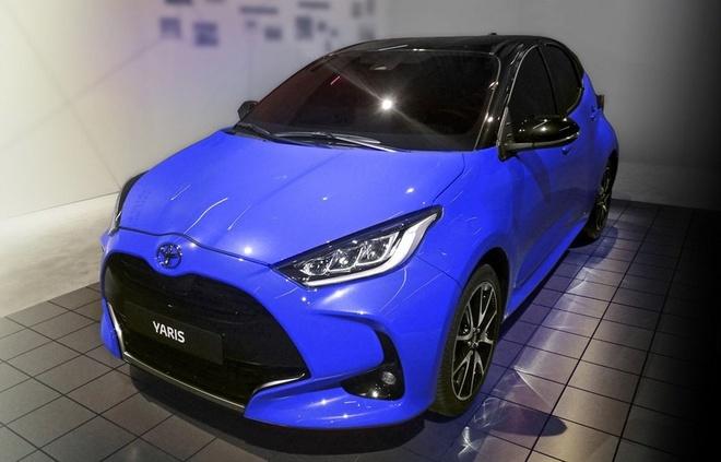 Toyota Yaris 2020 ban chau Au lo dien, mat truoc thiet ke khac la hinh anh 1