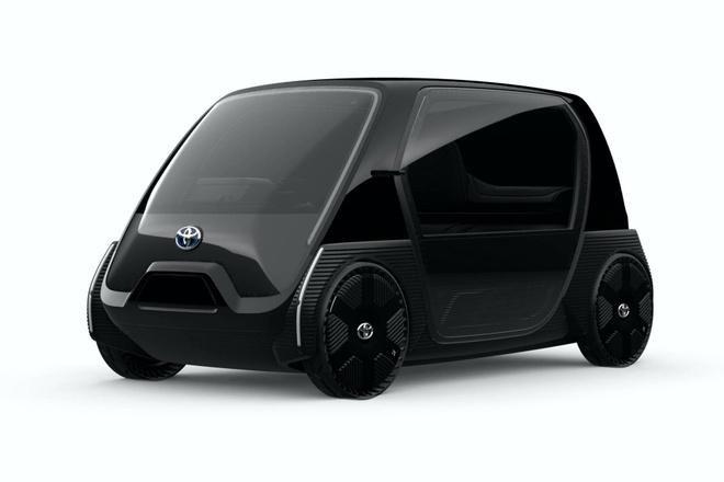 Toyota trinh dien xe dien sieu nho, ban ra cuoi nam 2020 hinh anh 5