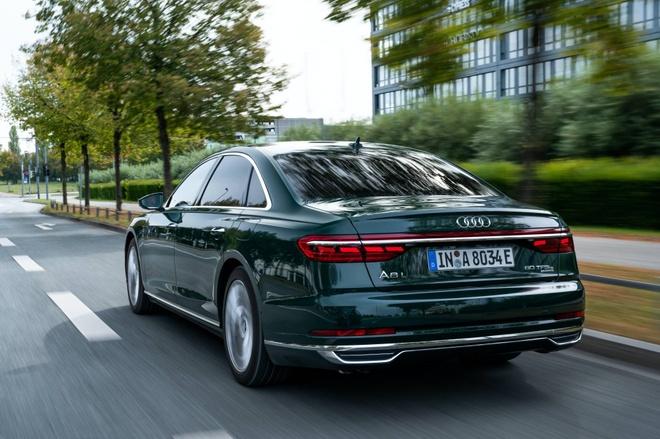 Audi lan dau tien ra mat sedan hang sang A8 plug-in hybrid hinh anh 2