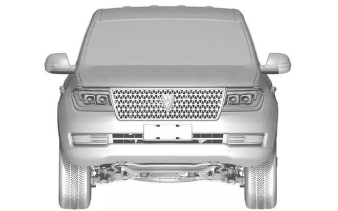 Hang xe Trung Quoc sao chep Toyota Land Cruiser hinh anh 1