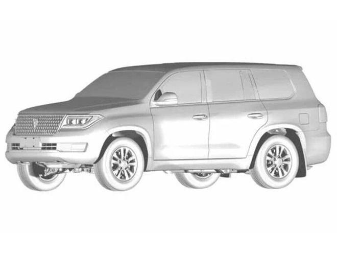 Hang xe Trung Quoc sao chep Toyota Land Cruiser hinh anh 4