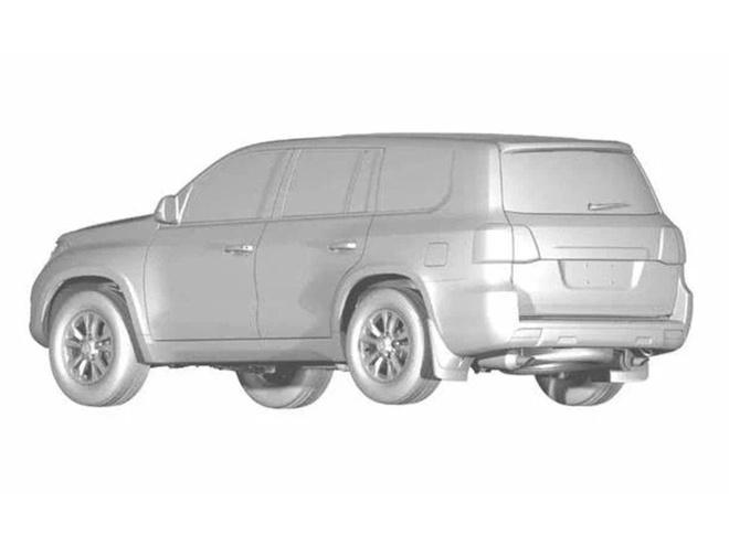 Hang xe Trung Quoc sao chep Toyota Land Cruiser hinh anh 6