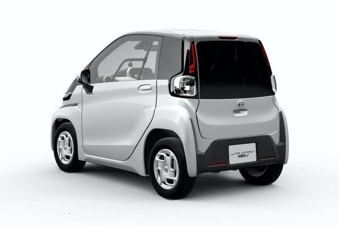 Toyota trinh dien xe dien sieu nho, ban ra cuoi nam 2020 hinh anh 2