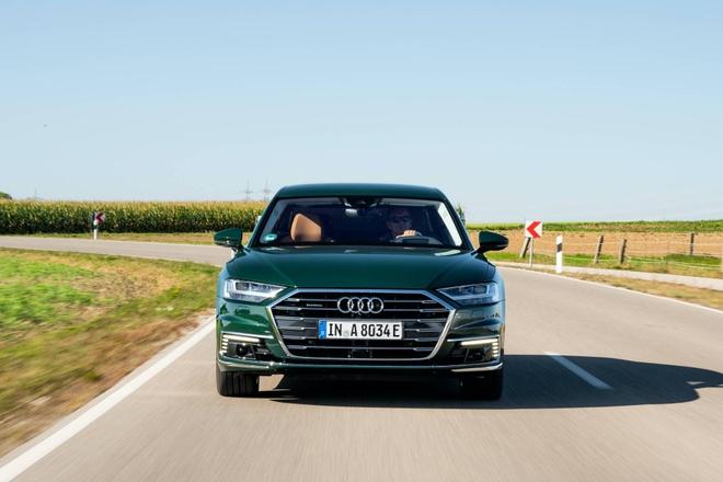 Audi lan dau tien ra mat sedan hang sang A8 plug-in hybrid hinh anh 3