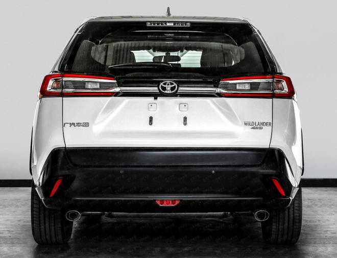 Toyota Wildlander 2020 ra mat chi o Trung Quoc, lai giua RAV4 va Lexus hinh anh 2