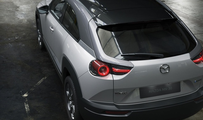 Mazda MX-30 lo dien anh 5