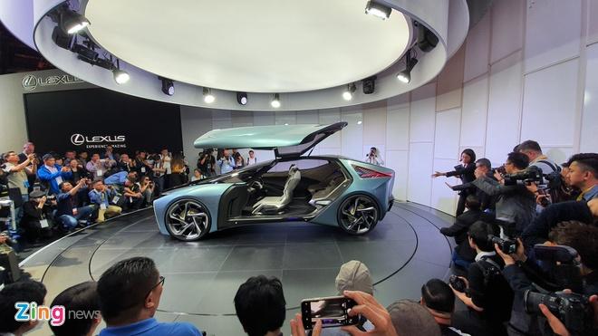 concept xe dien tuong lai Lexus LF-30 anh 1