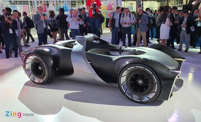 Toyota gioi thieu concept xe the thao tuong lai anh 1