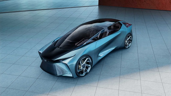 concept xe dien tuong lai Lexus LF-30 anh 2