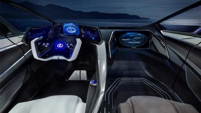 concept xe dien tuong lai Lexus LF-30 anh 7