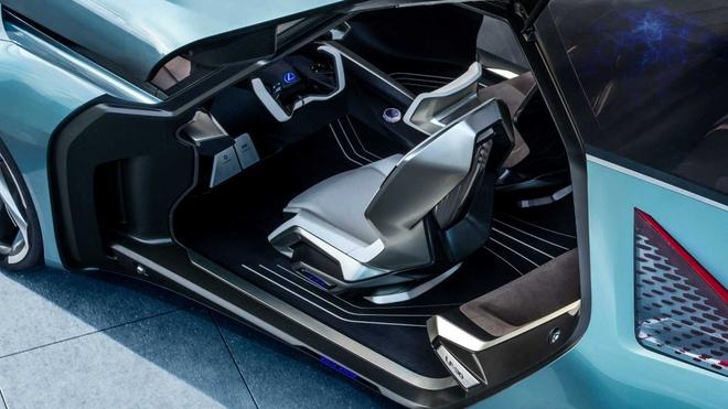 concept xe dien tuong lai Lexus LF-30 anh 4