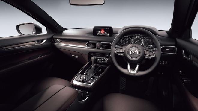 Mazda CX-8 2020 lo dien tai Tokyo Motor Show anh 6