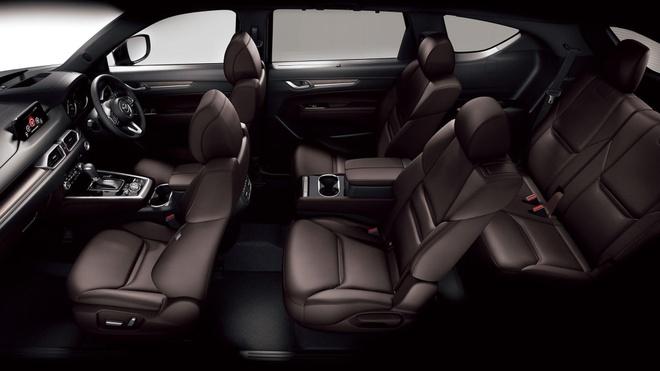 Mazda CX-8 2020 lo dien tai Tokyo Motor Show anh 8