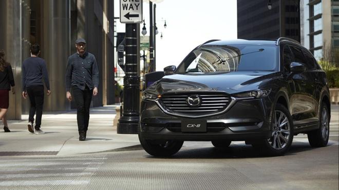 Mazda CX-8 2020 lo dien tai Tokyo Motor Show anh 1