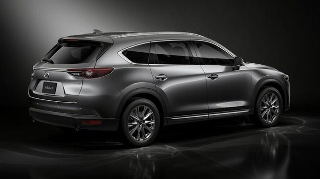 Mazda CX-8 2020 lo dien tai Tokyo Motor Show anh 2