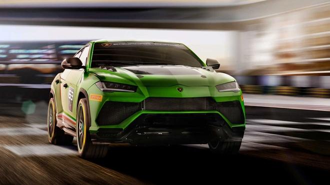 Sieu SUV the thao Lamborghini Urus ban xe dua lo dien hinh anh 5