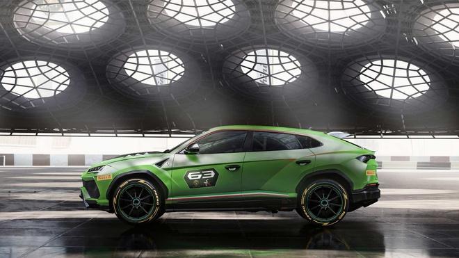 Sieu SUV the thao Lamborghini Urus ban xe dua lo dien hinh anh 3