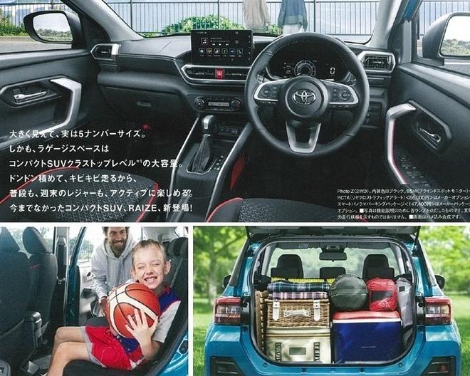 SUV co nho Toyota Raize 2020 lo dien, dan em cua RAV4 hinh anh 3