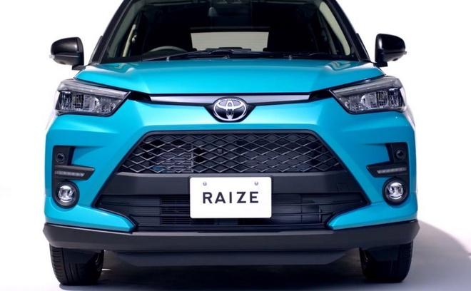 SUV co nho Toyota Raize 2020 lo dien, dan em cua RAV4 hinh anh 1