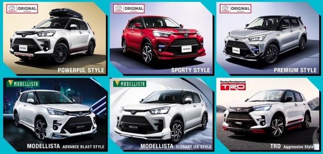 SUV co nho Toyota Raize 2020 lo dien, dan em cua RAV4 hinh anh 4