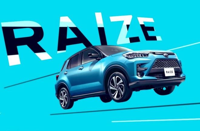 SUV co nho Toyota Raize 2020 lo dien, dan em cua RAV4 hinh anh 2