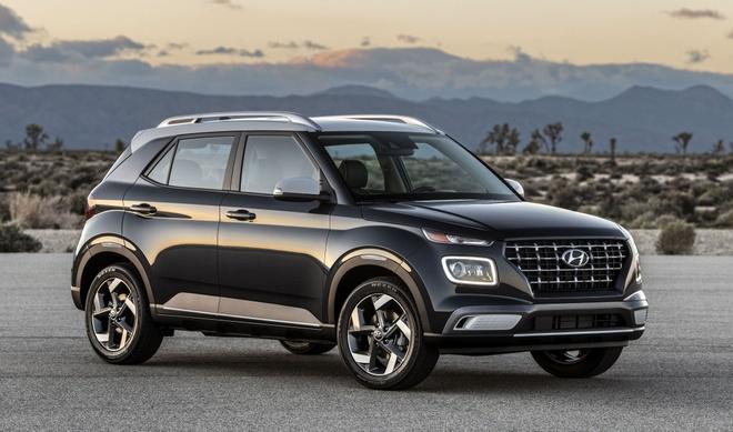 Hyundai Venue 2020 - crossover canh tranh bang gia re hinh anh 1