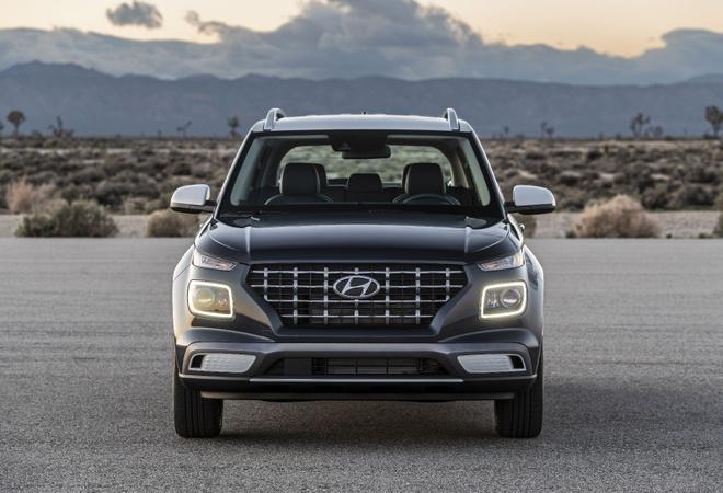 Hyundai Venue 2020 - crossover canh tranh bang gia re hinh anh 2